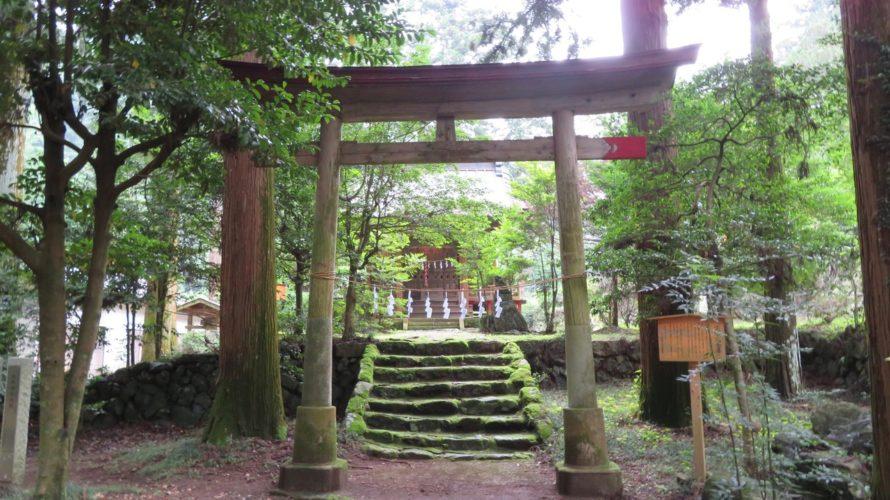 龍ヶ谷熊野神社 二の鳥居