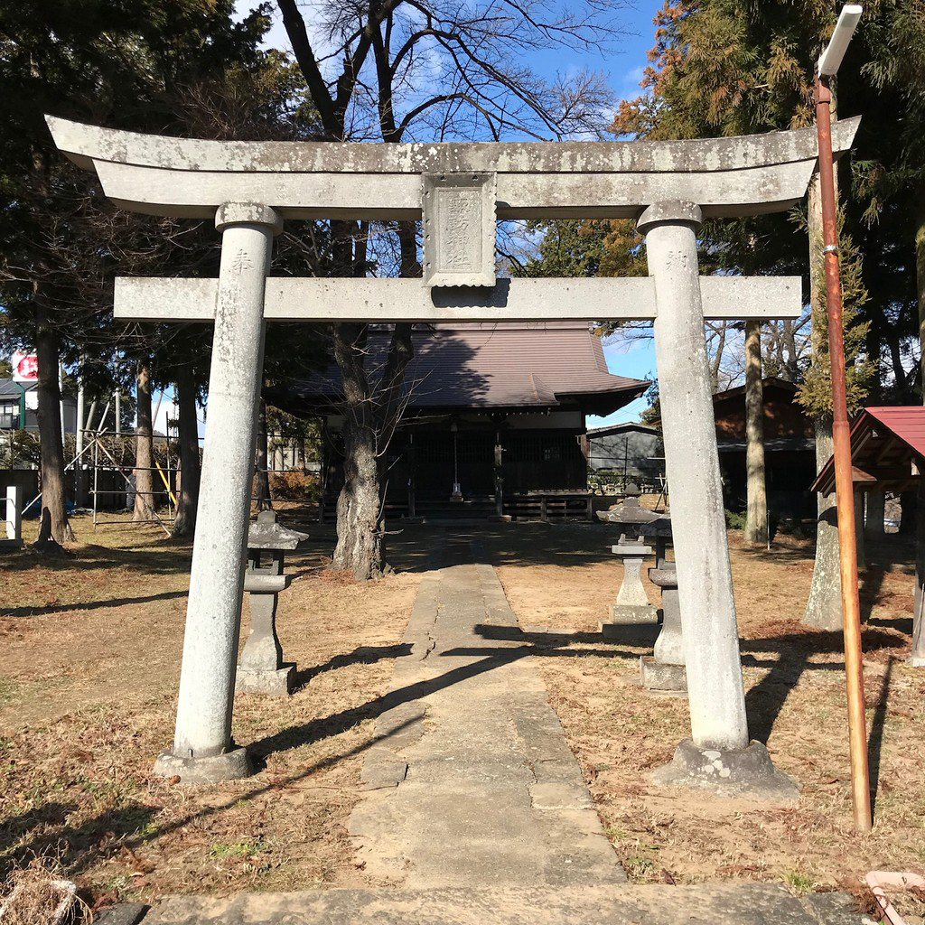 下教来石諏訪神社