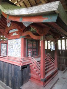 寺久保雷電神社本殿