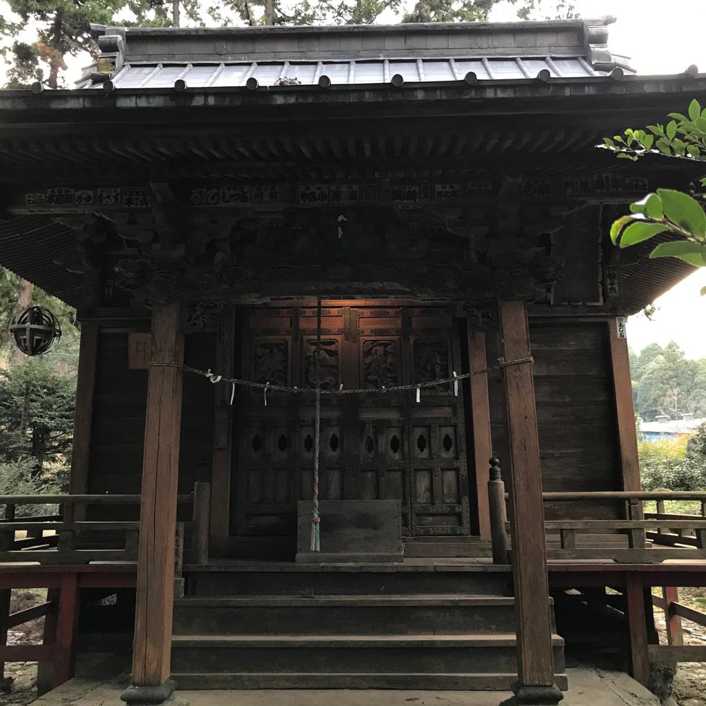 龍ヶ谷熊野神社社殿