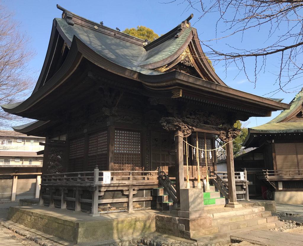 登戸稲荷社社殿
