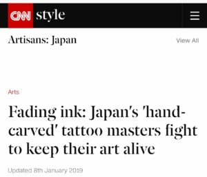 Fading ink: Japan's 'hand-carved' tattoo masters fight to keep their art alive