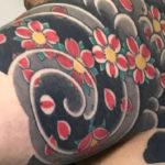 伝統刺青 額彫り5