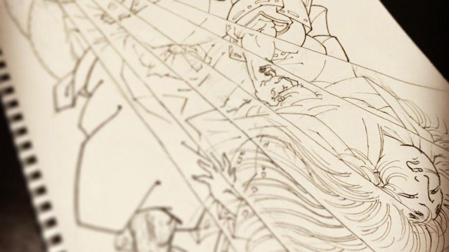 安倍泰親 玉藻前の正体を暴くの図