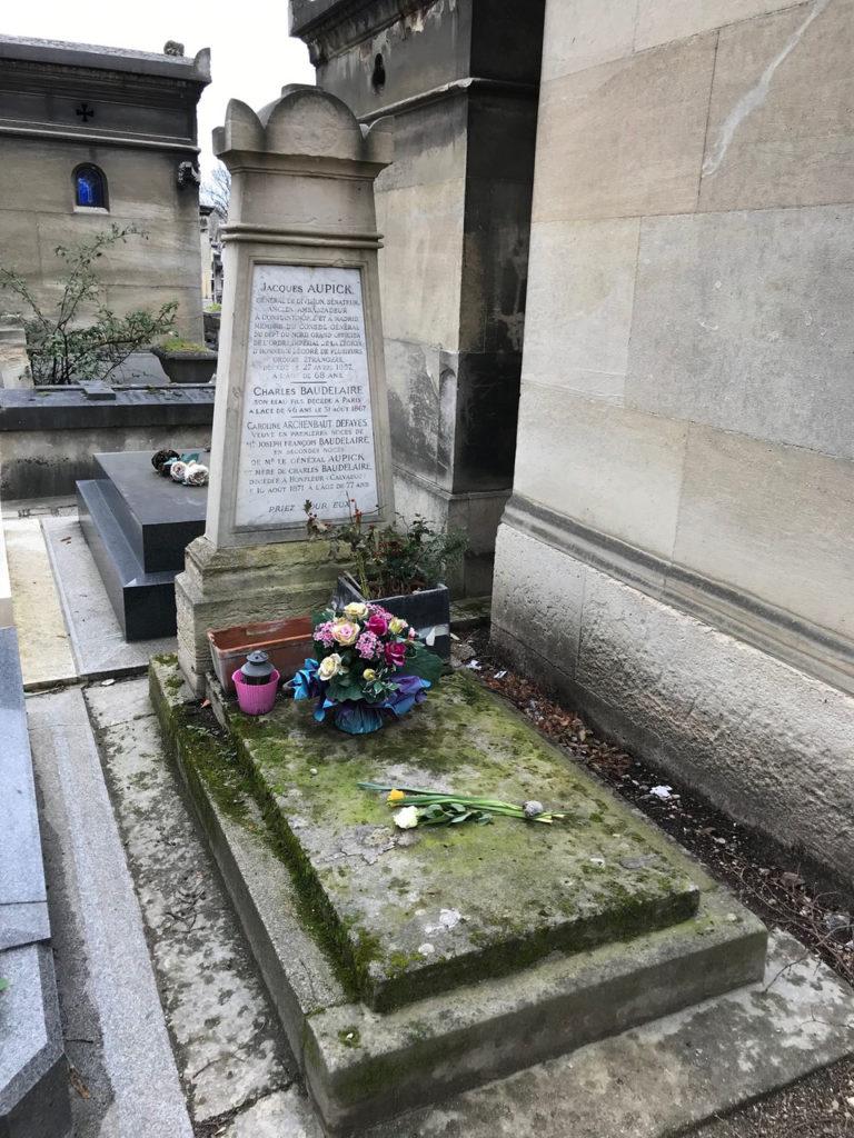 ボードレールのお墓