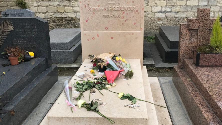 ジャンポール・サルトルとシモーヌ・ド・ボーヴォワールの墓