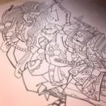 刺青図柄の意味 船弁慶
