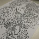 刺青図柄の意味 スサノオノミコト 「八岐大蛇退治」