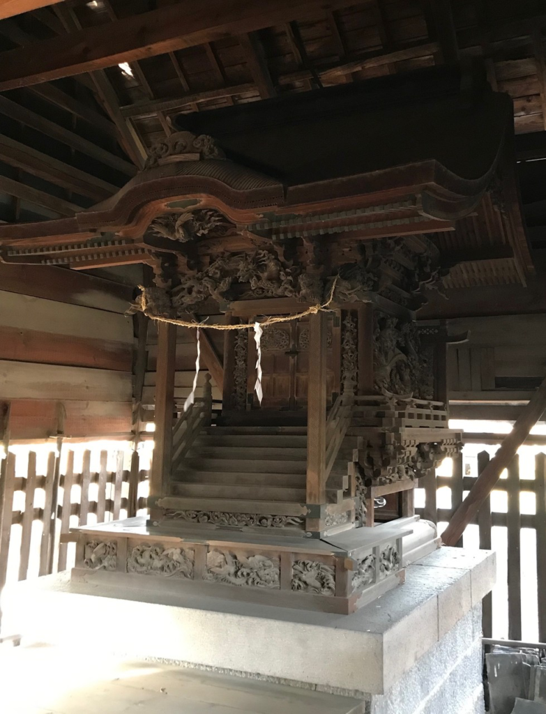堀川神社本殿