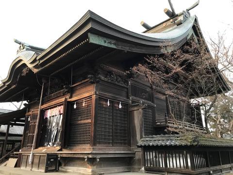 武水別神社本殿