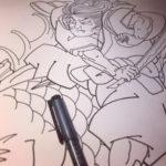 刺青図柄の意味 鬼若丸の化け鯉退治