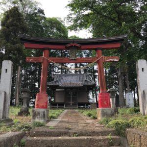都賀稲荷神社鳥居