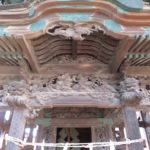 富岡諏訪神社と境内社(市場神社?)