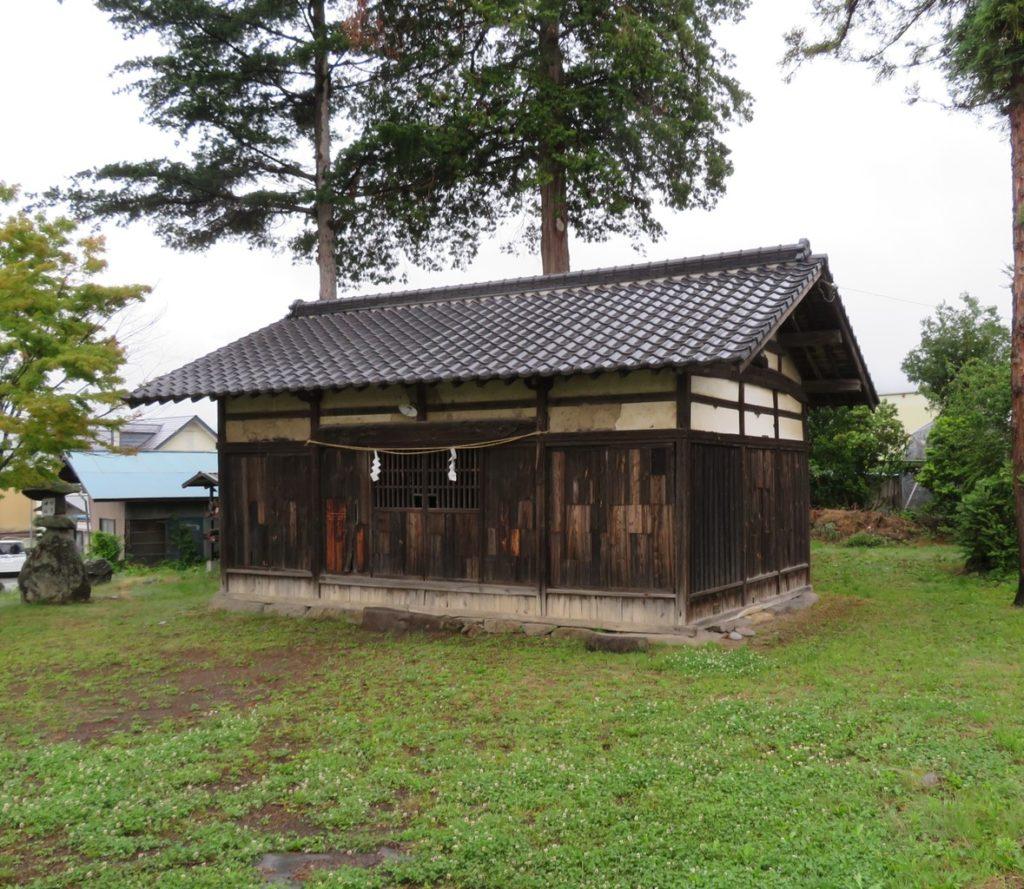 竹室神社拝殿