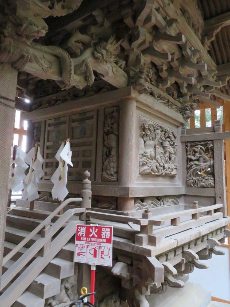 北野神社本殿正面北面