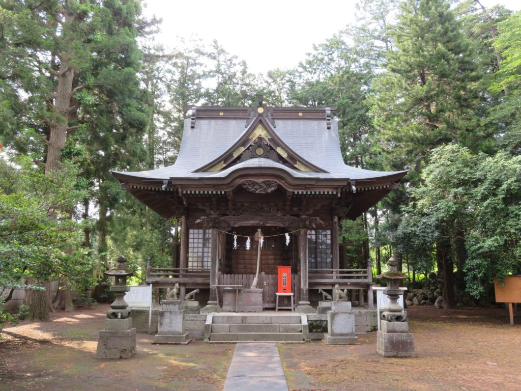 宿稲荷神社社殿