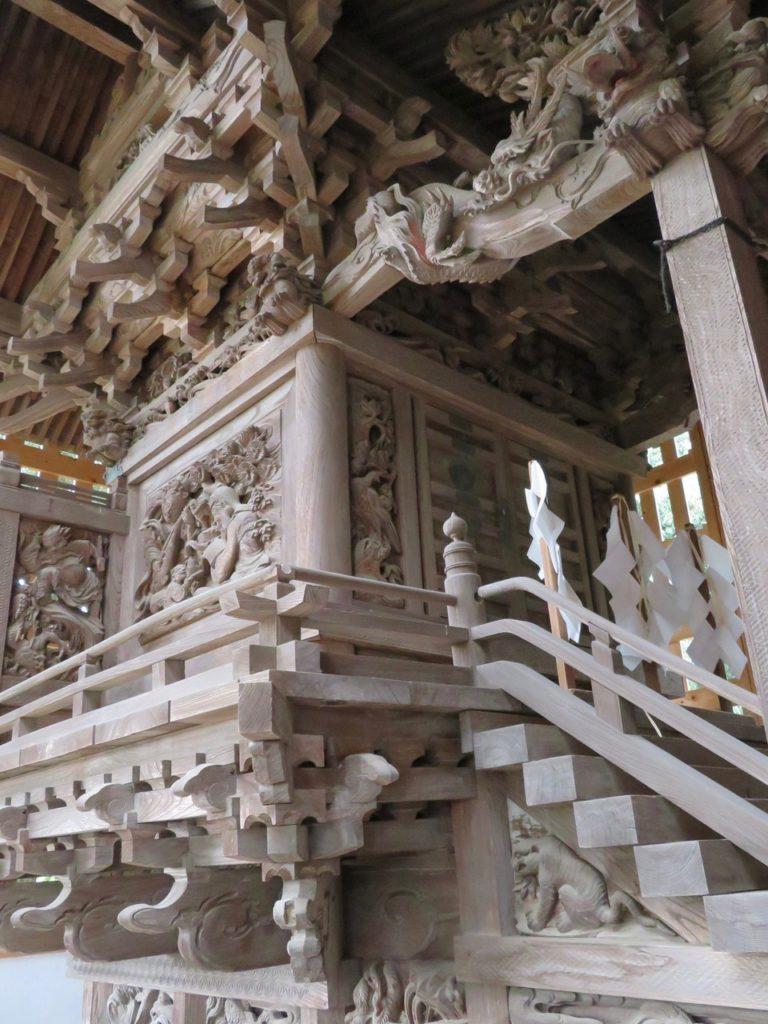 北野神社本殿正面南面