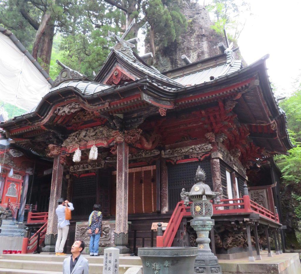 榛名神社社殿
