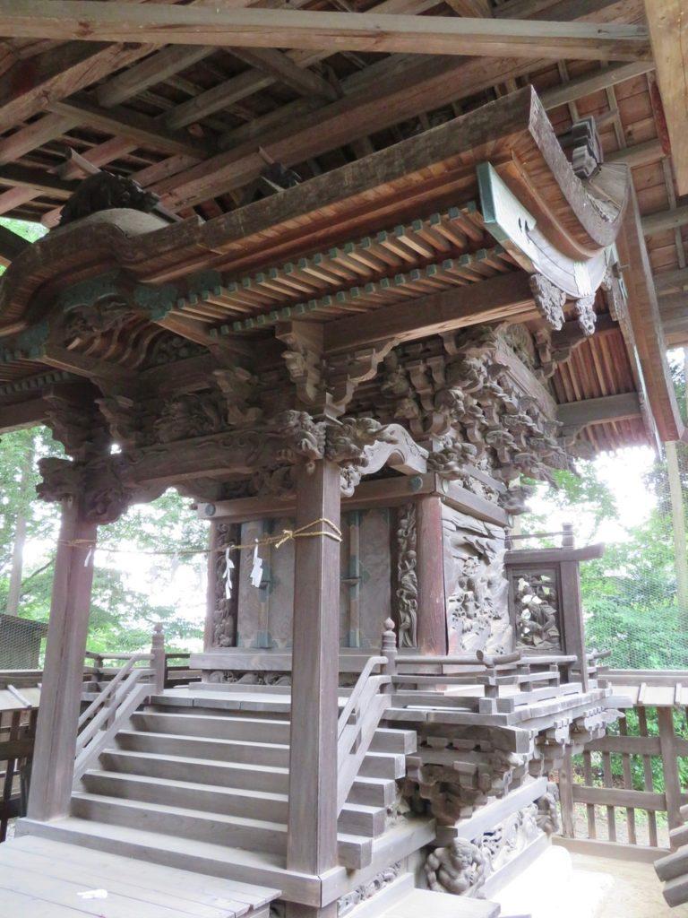 津久根八幡神社本殿