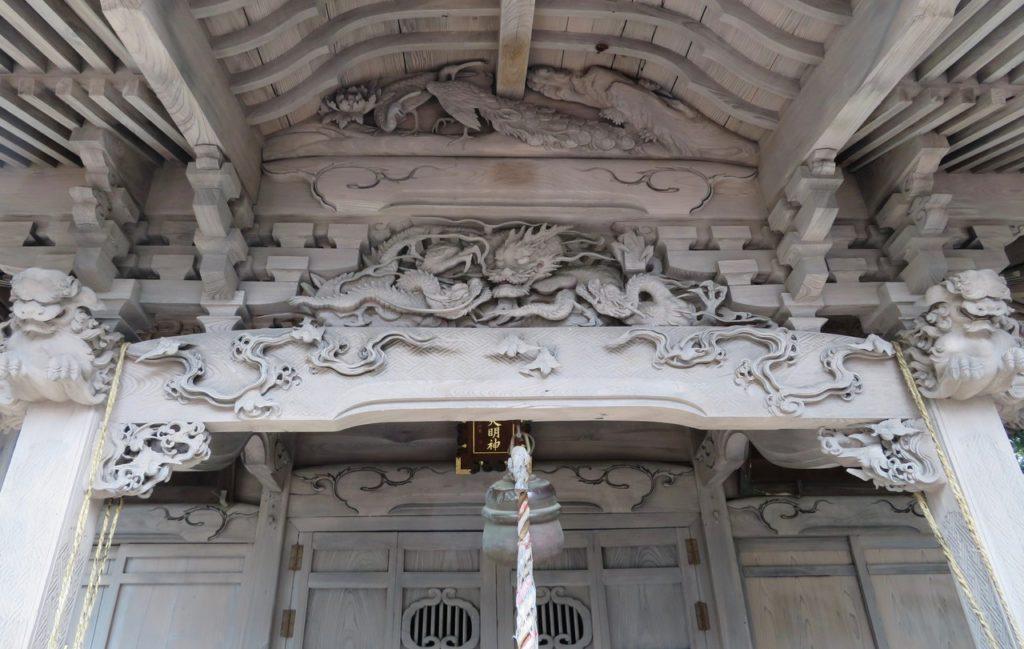 八宮神社向拝