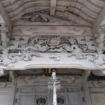 小川八宮神社拝殿と境内社