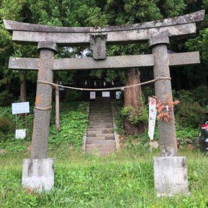 菱野健功神社鳥居