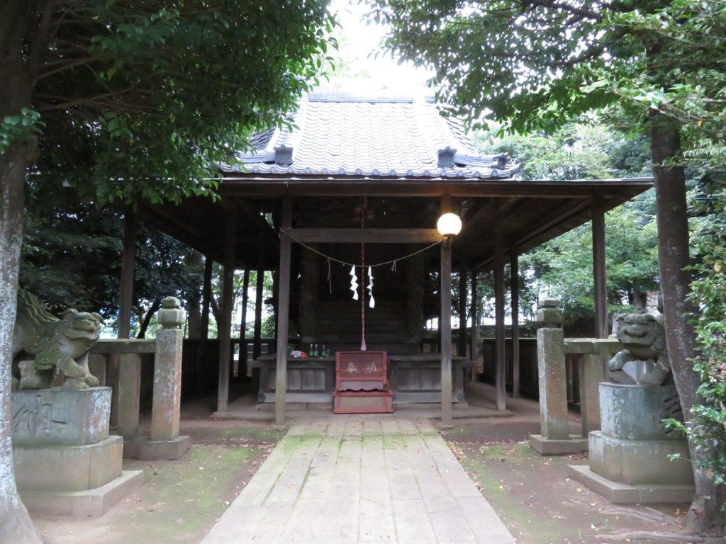 富塚鳥見神社本殿