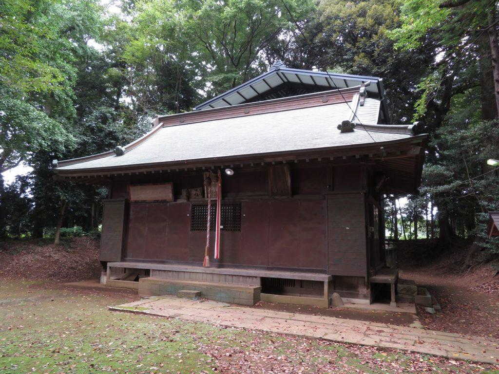 先崎鷲神社拝殿