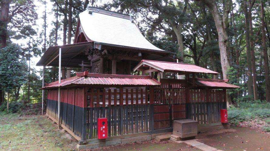 平塚鳥見神社本殿