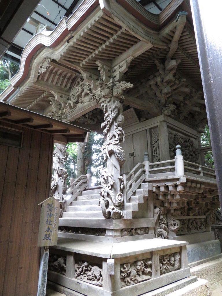 先崎鷲神社本殿