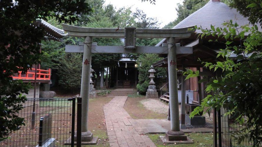 富塚鳥見神社二の鳥居