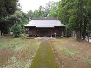 岩戸宗像神社拝殿
