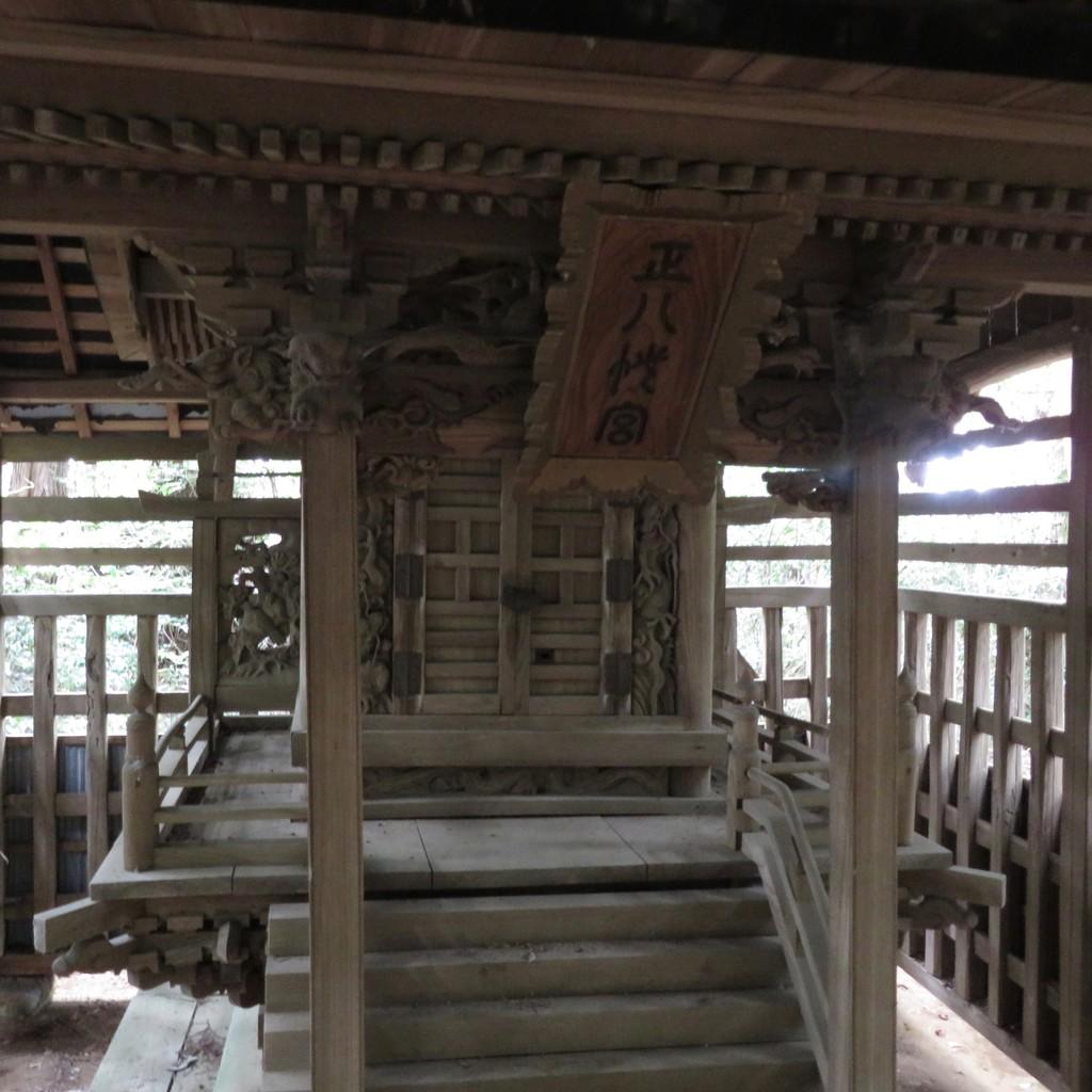 平塚八幡大神社本殿正面