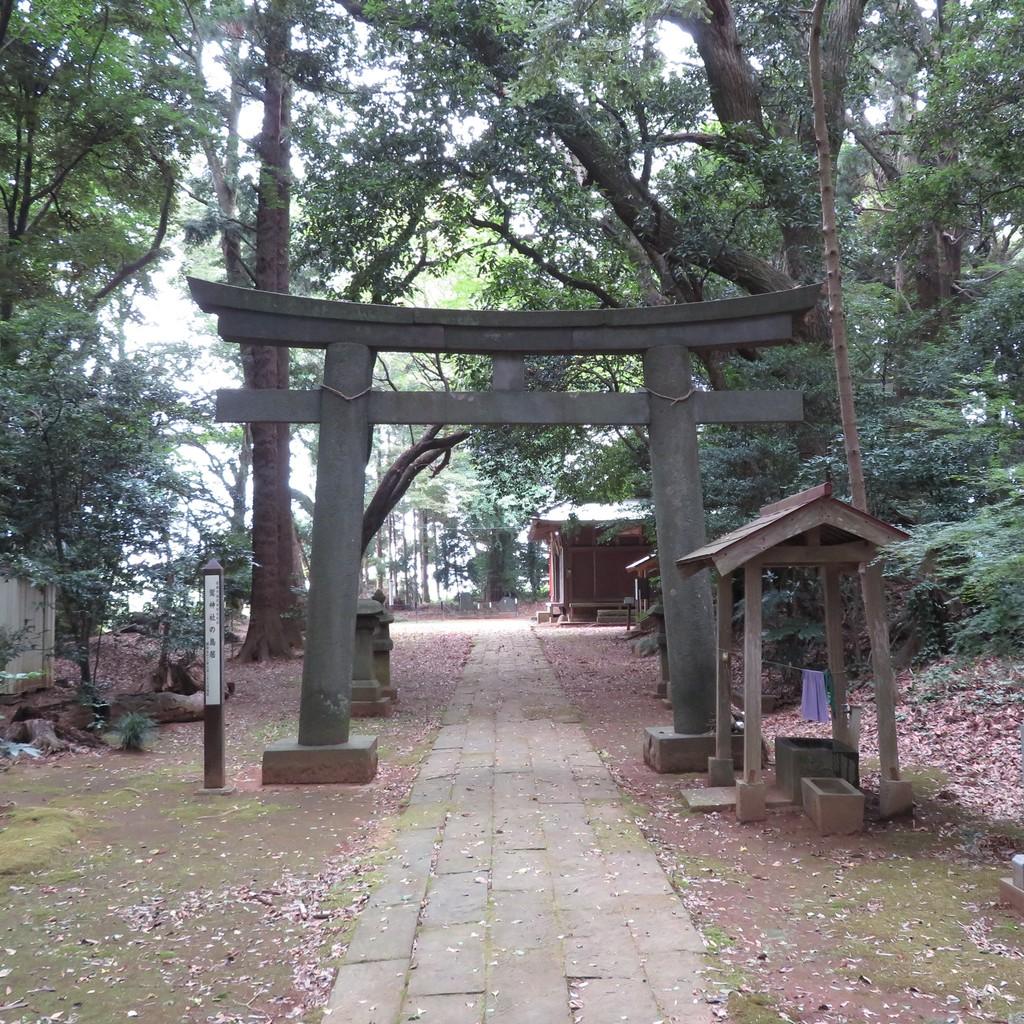 先崎鷲神社鳥居