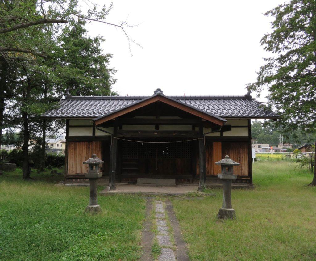伊波保神社拝殿