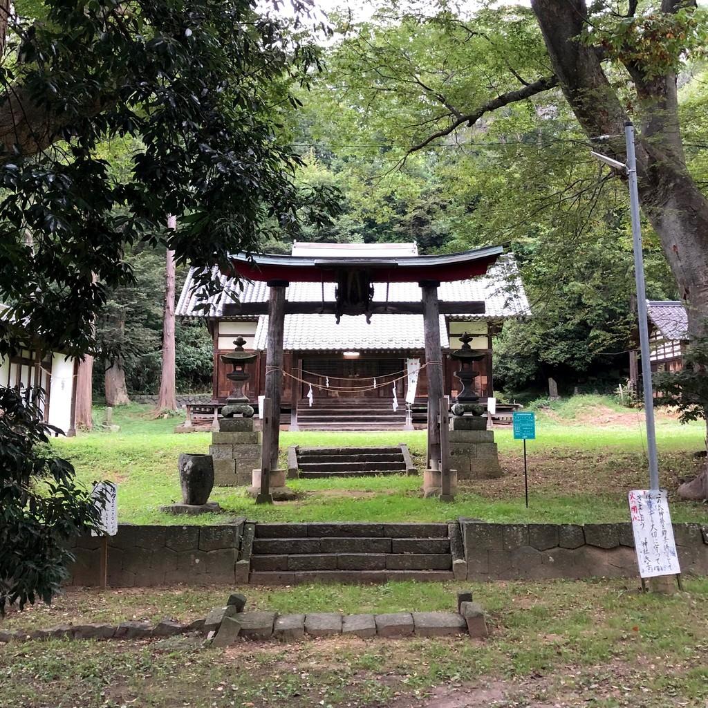 東條健代神社