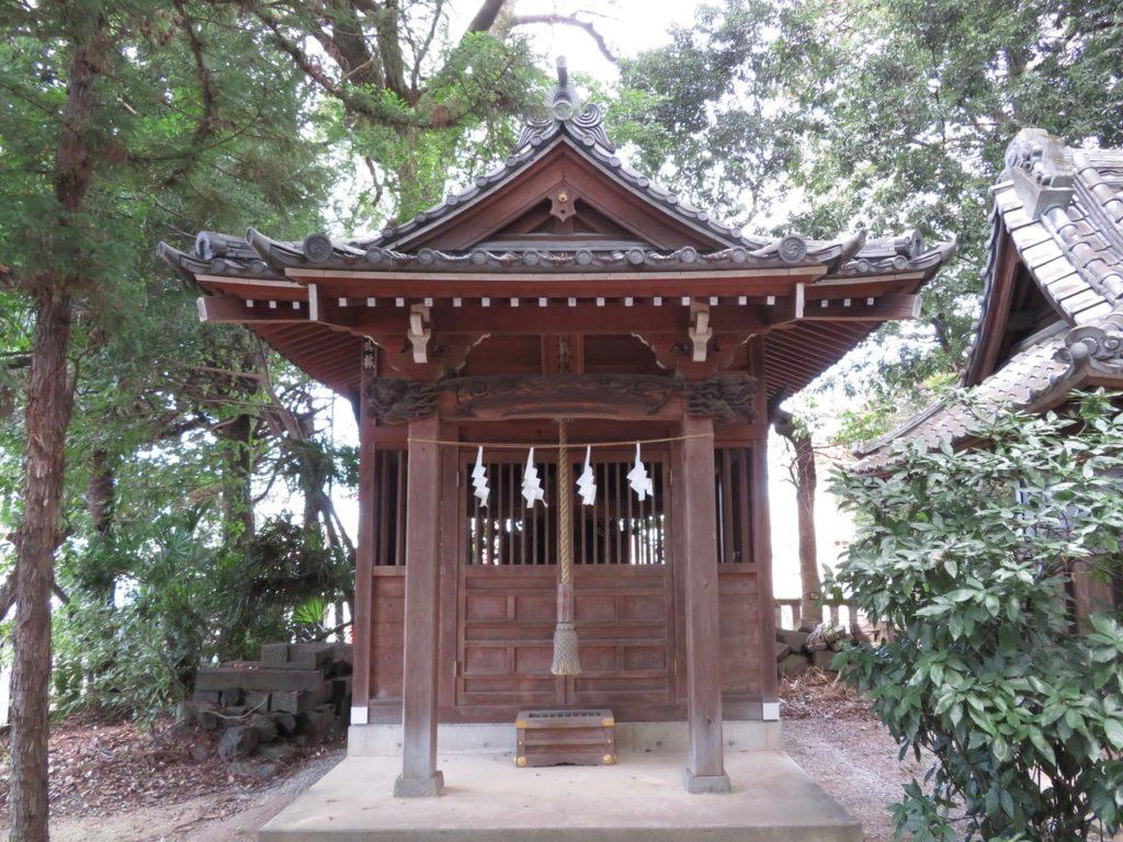 金鑚神社境内社八坂神社