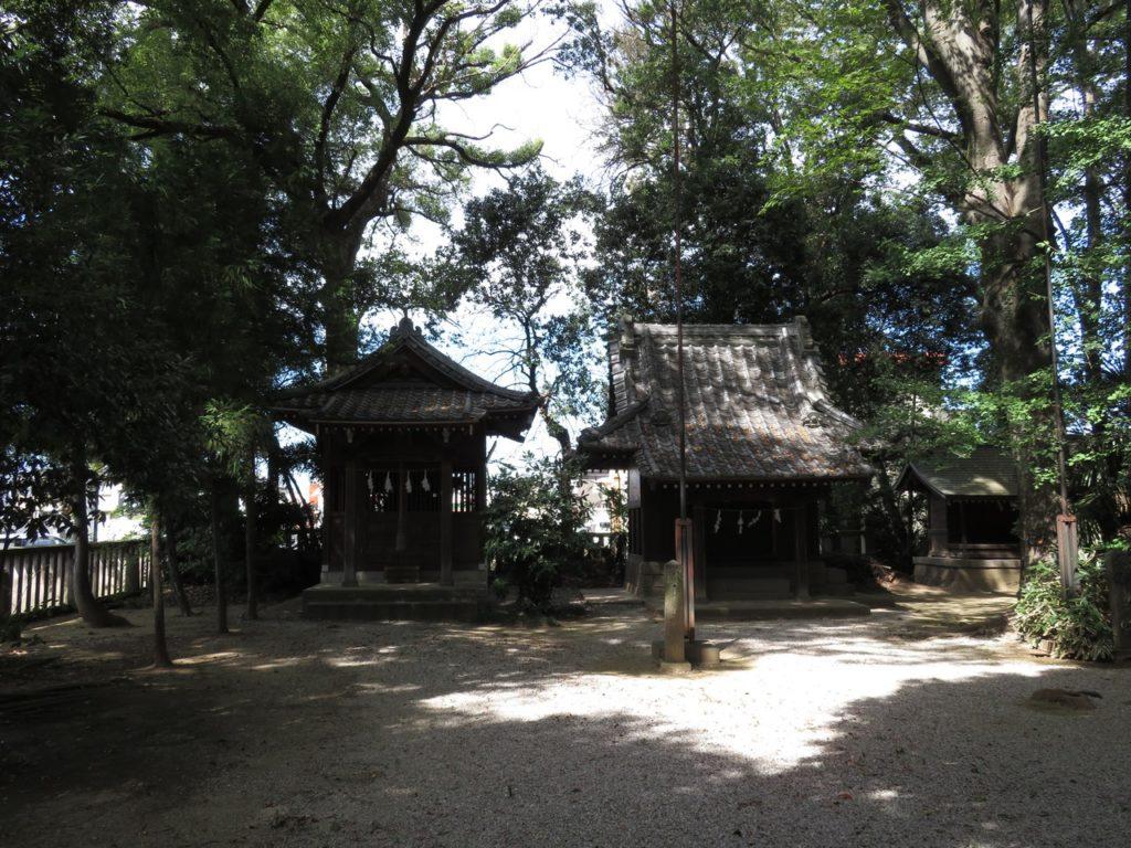 金鑚神社境内社