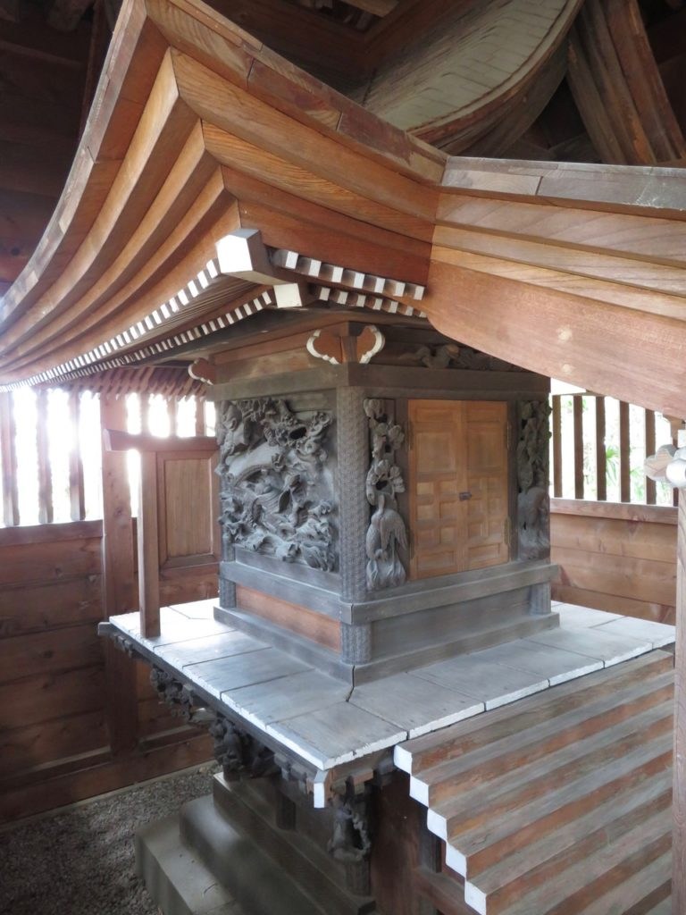 八坂神社本殿