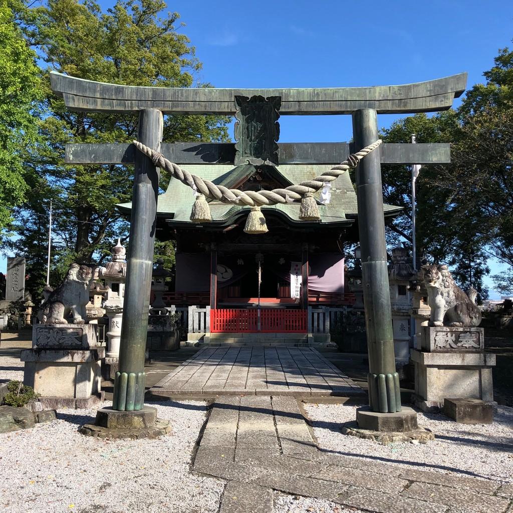 東石清水八幡神社鳥居