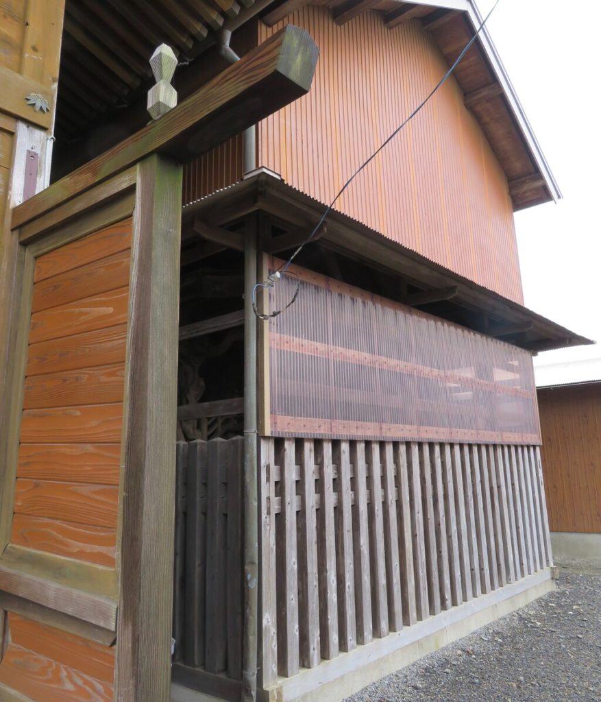 相馬神社覆い屋