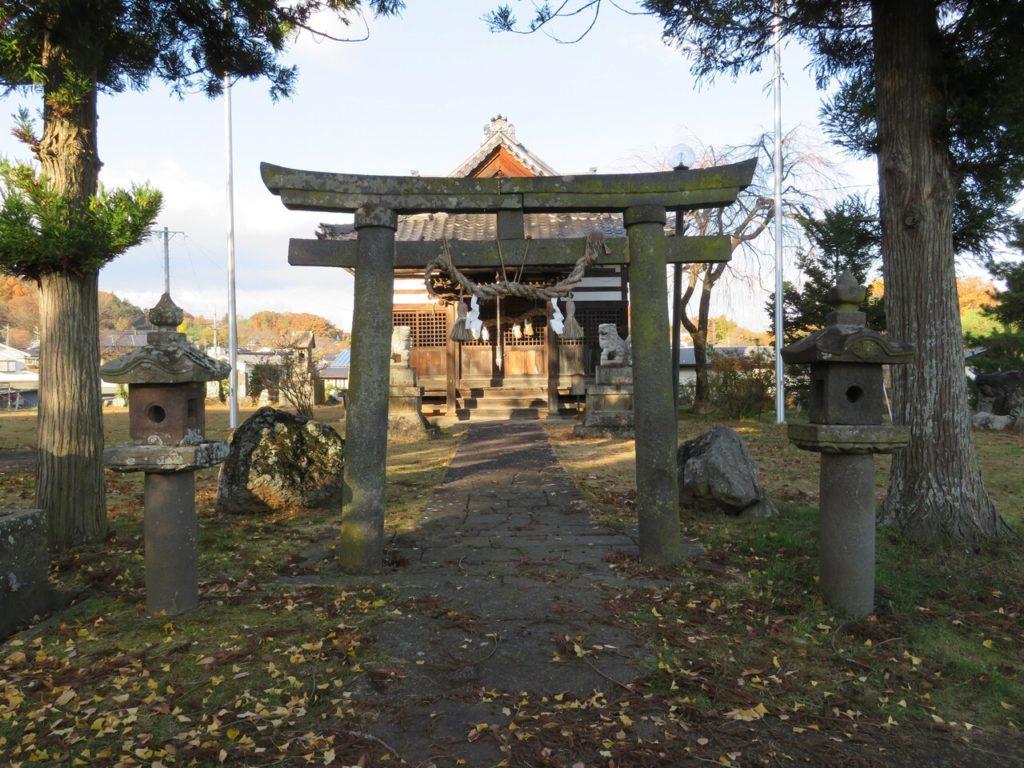 茂田井諏訪神社ニノ鳥居