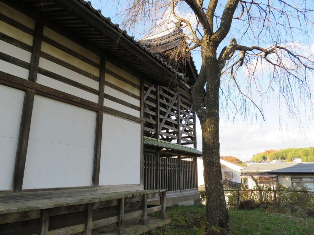 茂田井諏訪神社本殿覆屋