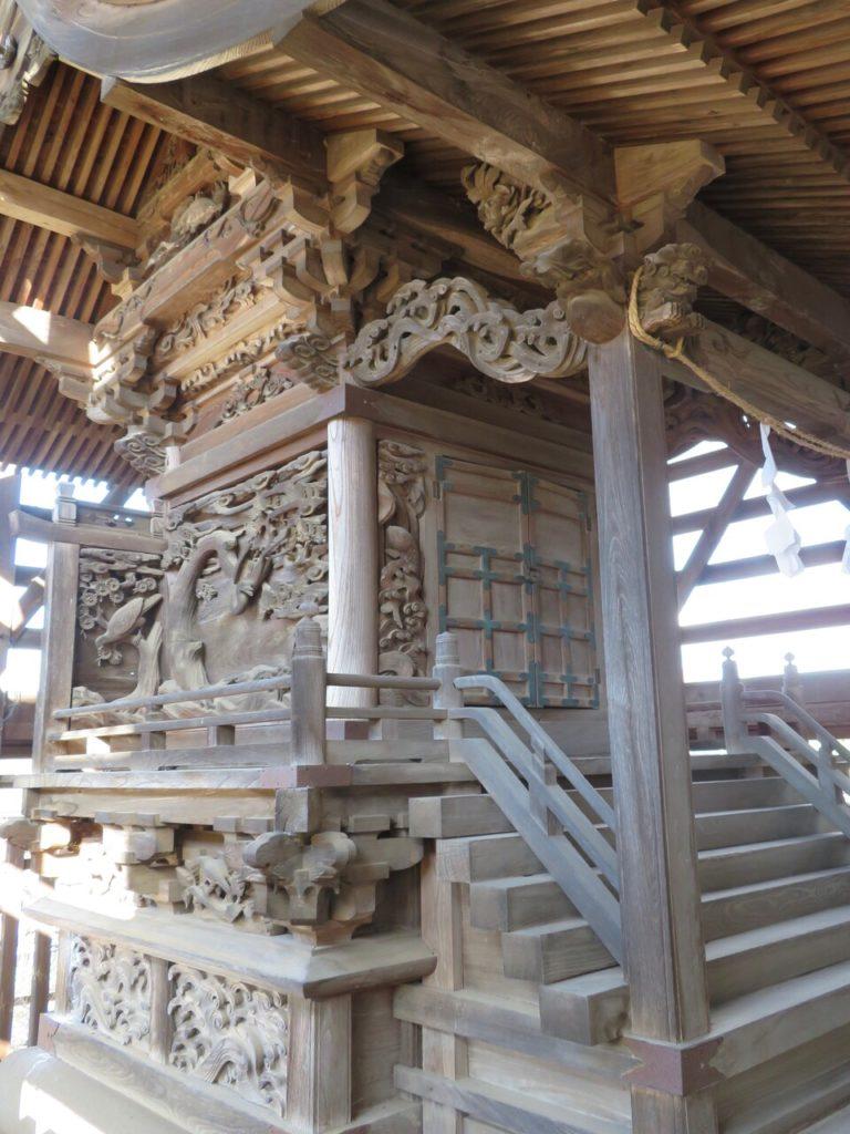 茂田井諏訪神社本殿
