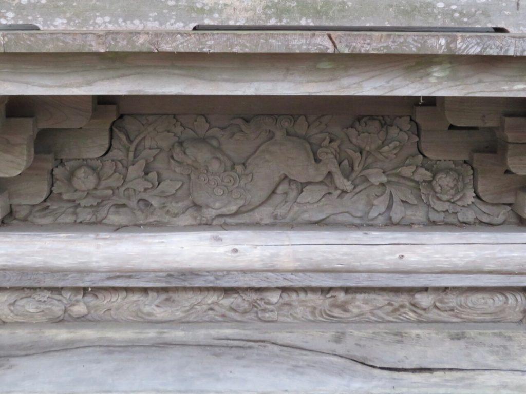 右側床下琵琶板