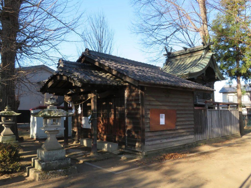 臼田諏訪神社社殿