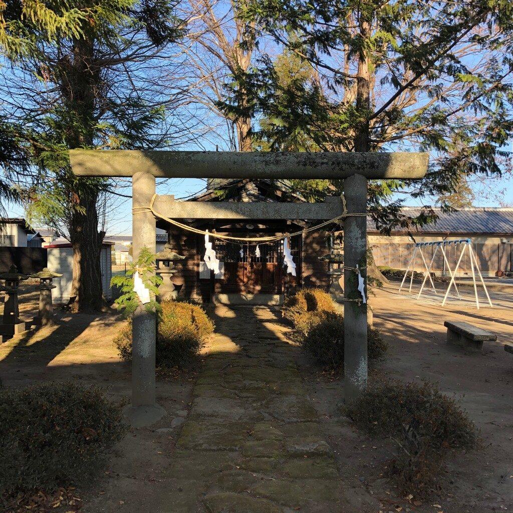 臼田諏訪神社鳥居