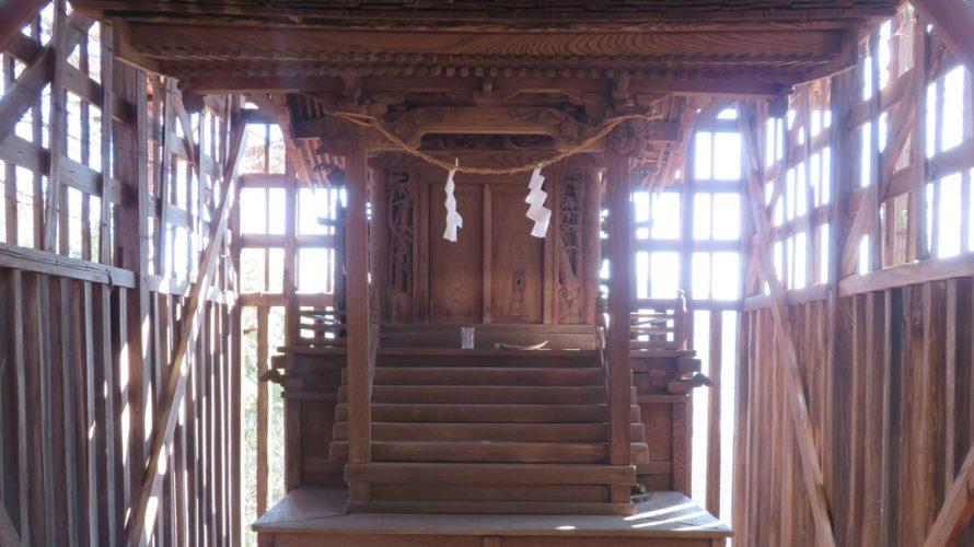 北川神社本殿