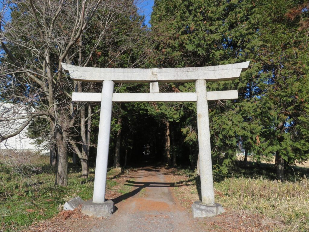 八幡神社一ノ鳥居