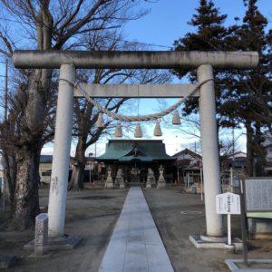 大桑神社鳥居